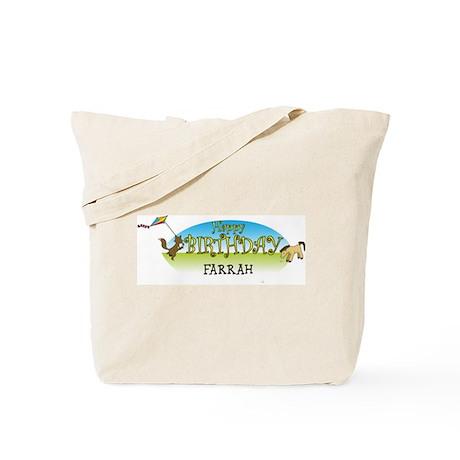 Happy B-Day Farrah (farm) Tote Bag