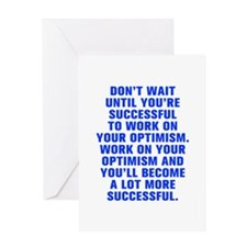 Don t wait until you re successful to work on your