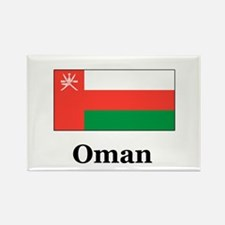 Oman Rectangle Magnet