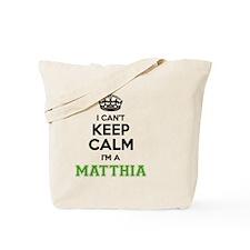 Funny Matthias Tote Bag