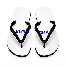 I beat anorexia-Akz blue Flip Flops