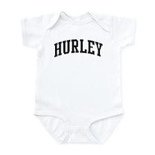 HURLEY (curve-black) Infant Bodysuit