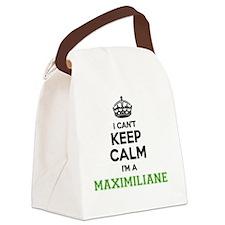 Cute Maximilian Canvas Lunch Bag