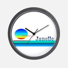 Janelle Wall Clock
