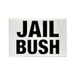 Jail Bush Rectangle Magnet (100 pack)