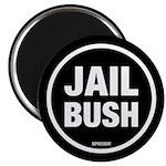 Jail Bush Magnet