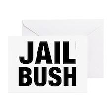Jail Bush Greeting Cards (Pk of 10)