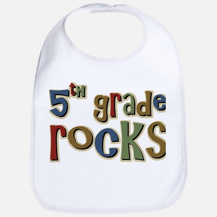 5th Grade Rocks Fifth School Bib