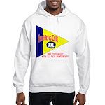 Old Mens Club Hooded Sweatshirt