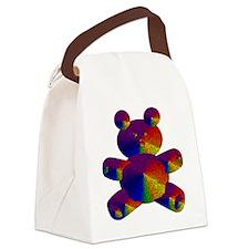 Rainbow Bear Canvas Lunch Bag