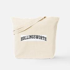 HOLLINGSWORTH (curve-black) Tote Bag