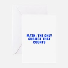 Math the only subject that counts-Akz blue Greetin