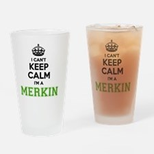 Unique Merkin Drinking Glass