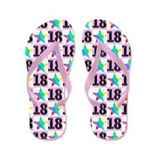 18th Super Star Flip Flops