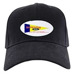 Old Mens Club Black Cap
