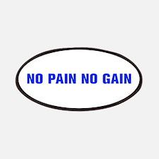 No pain no gain-Akz blue Patches