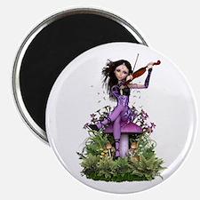 Amethyst Fairy ~ Summer Melody Magnets
