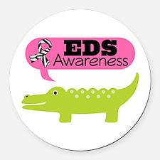 EDS Awareness cute Round Car Magnet
