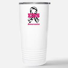 EDS Awareness Zebra Rib Travel Mug
