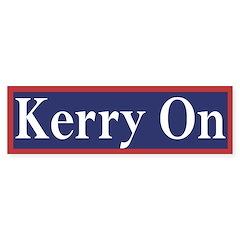 Kerry On (bumper sticker)
