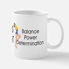 TOP Gymnastics Slogan Mug