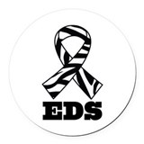 Ehlers danlos Round Car Magnets