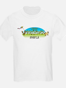 Happy B-Day Shayla (farm) T-Shirt