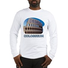 Italy Colosseum Long Sleeve T-Shirt
