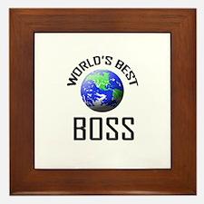 World's Best BOSS Framed Tile