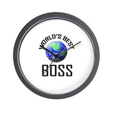 World's Best BOSS Wall Clock