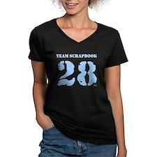 Team Scrapbook {blue} Shirt