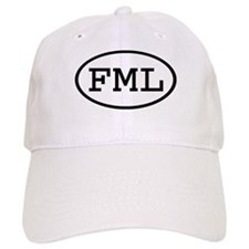 FML Oval Baseball Cap