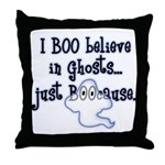 Boo Believe Throw Pillow
