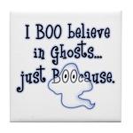 Boo Believe Tile Coaster