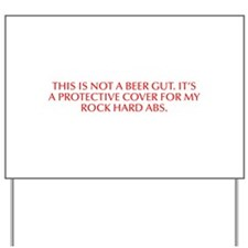 This is not a beer gut It s a protective cover for
