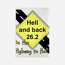 Highway to hell Rectangle Magnet