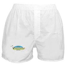 Happy B-Day Damien (farm) Boxer Shorts