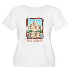 Retro Taj Mahal T-Shirt
