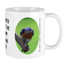 Bluebird Nut Mug