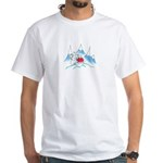 polar bear and penguins White T-Shirt