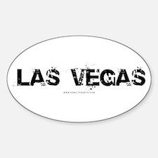 Las Vegas NV Oval Decal