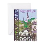 Mardi Gras Cards (Pk of 10)