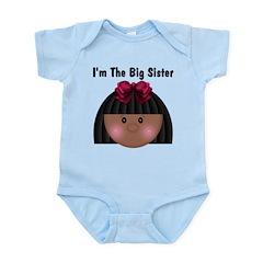 African American Big Sister Infant Bodysuit