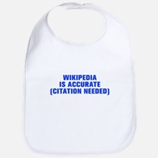 Wikipedia is accurate citation needed-Akz blue Bib