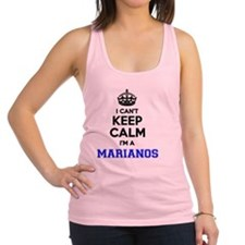 Funny Mariano Racerback Tank Top