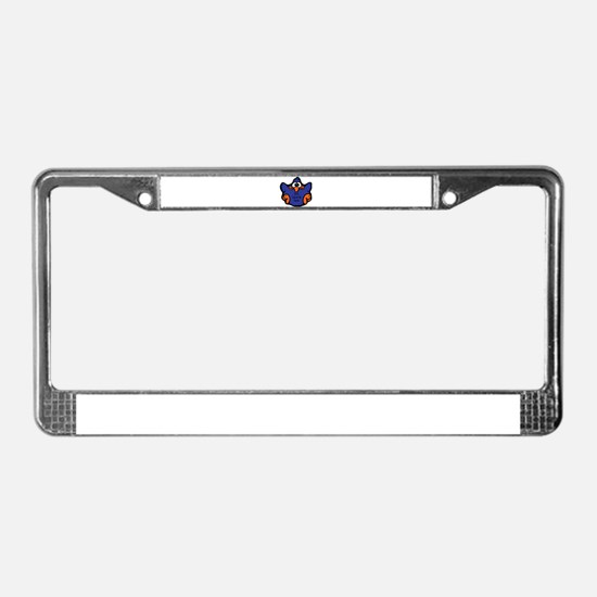 Colorectal Cancer License Plate Frame