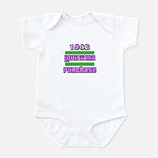 Louisiana Purchase Infant Bodysuit