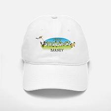 Happy B-Day Barney (farm) Baseball Baseball Cap