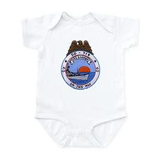 USS HAMNER Infant Bodysuit