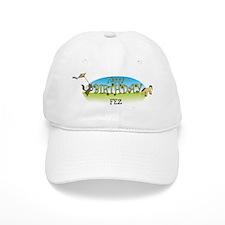 Happy B-Day Fez (farm) Baseball Cap